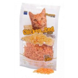 MAGNUM Chicken and Cod Chips for cats 70g [16015]